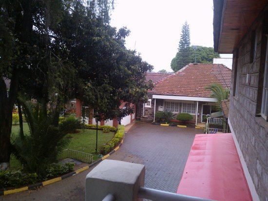PrideInn Hotel Westlands : Photo from the Room Galary-Nice Rainy Day Early Morning.