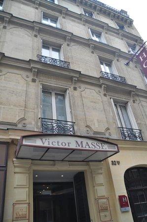 Hotel Victor Masse: фасад