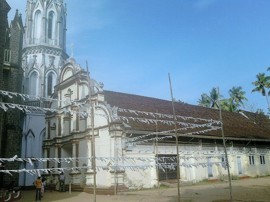 St. Andrew's Basilica Arthunkal: The old church