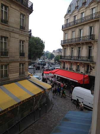 Hotel Albe Saint Michel : View from room