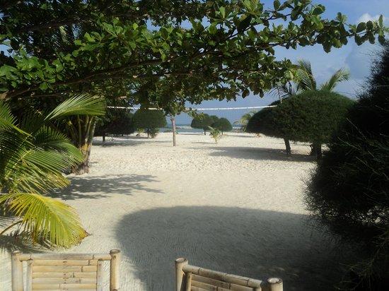 Malibu Beach Bungalows: Песок на пляже реально белый!!!
