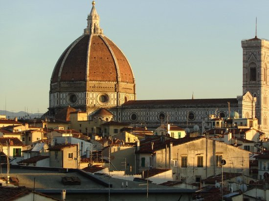 Locanda dei Guelfi B&B: View of Duomo from rooftop terrace