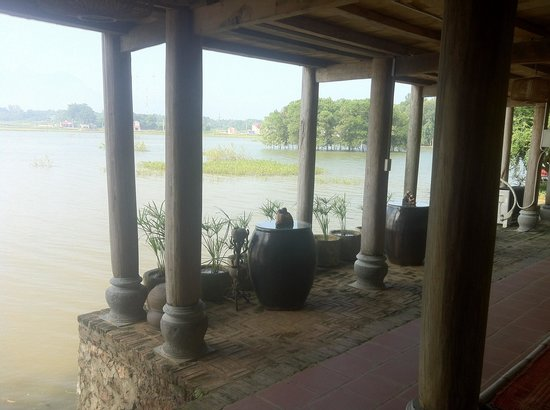 Moon Garden Homestay: View of the river