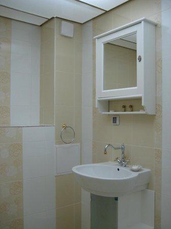 Hotel Apart Blagoevgrad: Bathroom Paris