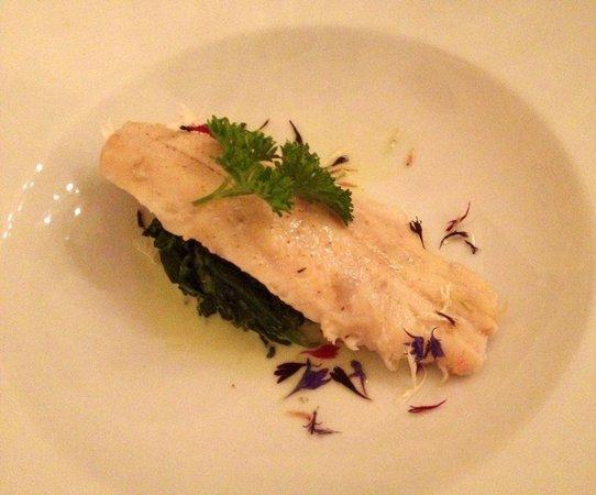 Hotel Rischli: Repas du soir
