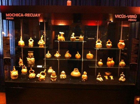 Musee des Jacobins: Poteries pré-colombienne