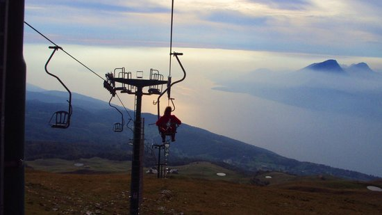 San Zeno di Montagna, Italy: la vista mozzafiato