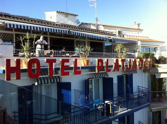 Hotel Platjador: Rooftop bar