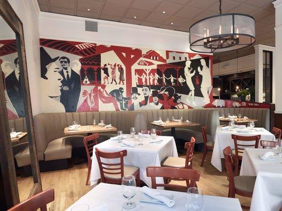 Hotel D'Amici Ristorante: Dinning room