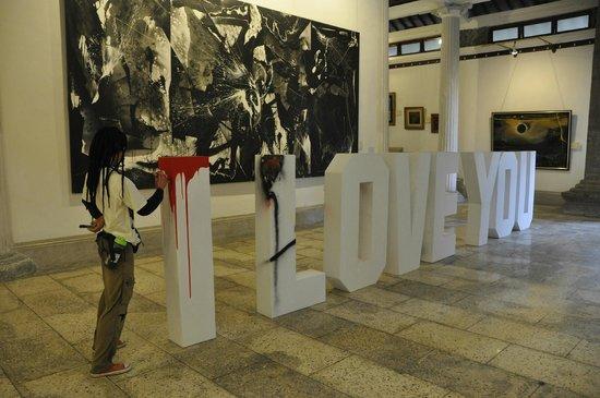 Museo de Arte Angung Rai (ARMA): salle contemporaine