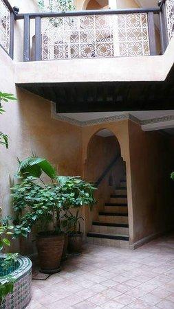 Riad du Petit Prince: second patio