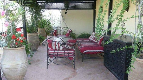 Riad du Petit Prince: terrasse
