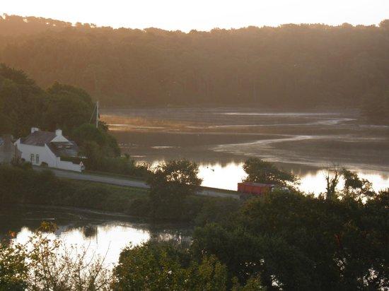 Domaine de Kerstinec Hotel & Restaurant: vue du matin