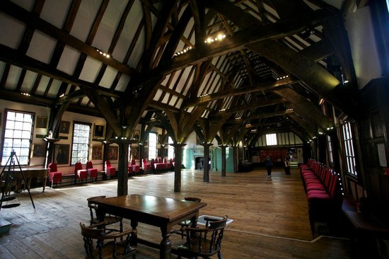 Merchant Adventurers' Hall: The Great Hall