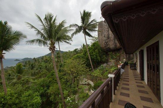Koh Tao Star Villa : corridor