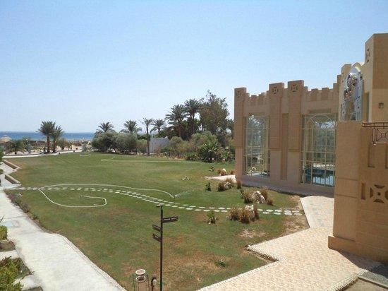 Imperial Shams Abu Soma Resort: вид из номера, меня устраивает