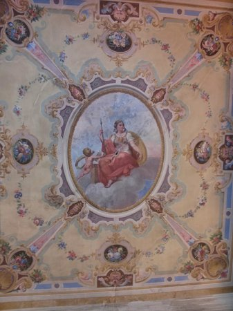 1865 Residenza d'epoca : affresco on the ceiling of the room