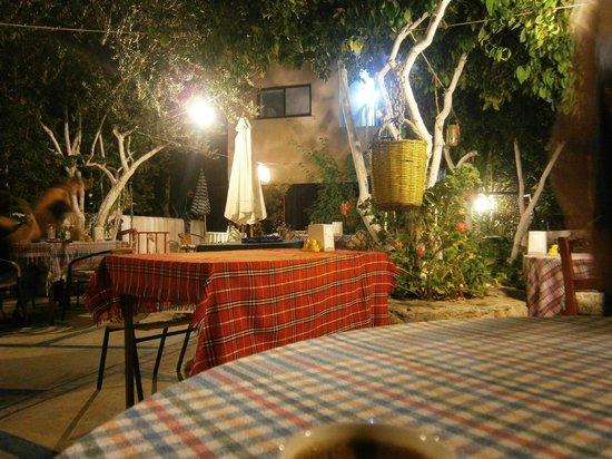 Ikimiz Restaurant : giardino