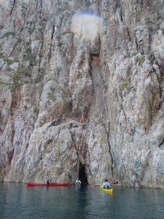Sea Kayak Milos: Another crevice to explore