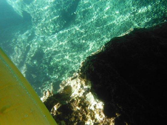 Sea Kayak Milos: Turquoise, clear sea