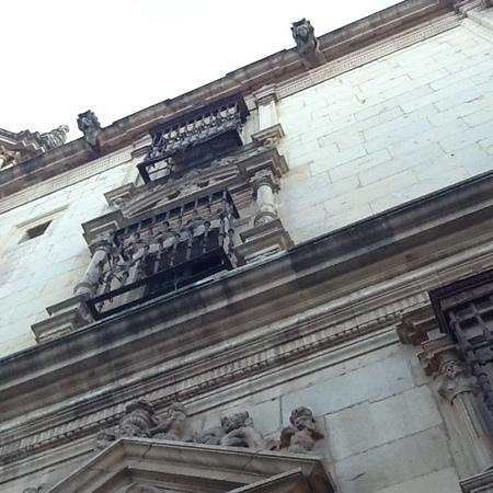 Colegio de San Ildefonso: Facade of the Colegio de San Idelfonso (Rectory of the University of Alcalá de Henares)