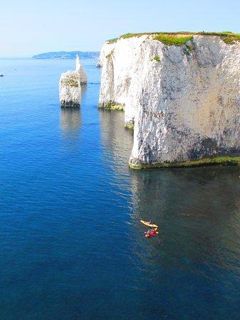Old Harry Rocks: the cliffs