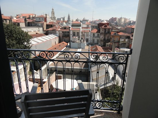 Oporto House: View from balcony