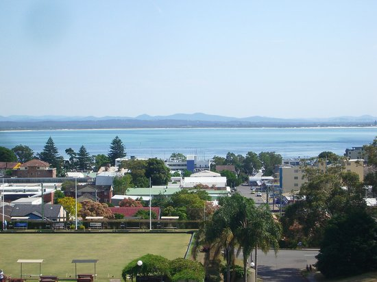 The Landmark Nelson Bay: Fabulous views from this apartment