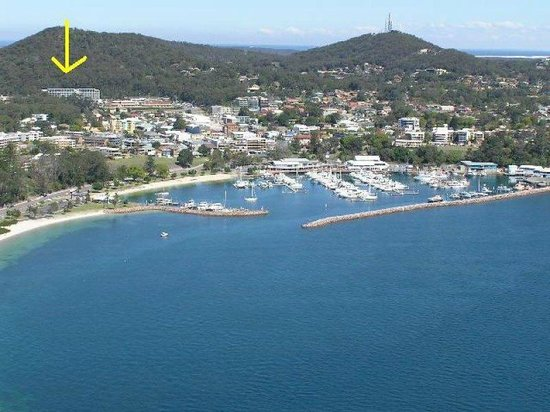 The Landmark Nelson Bay: Walk to the club, town, marina and local beach