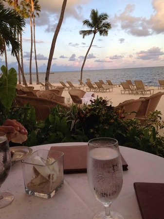 Atlantic's Edge Restaurant: The view from our table