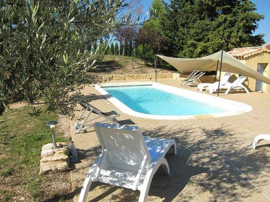 Le Clos Saint Michel & Spa : am Pool entspannen