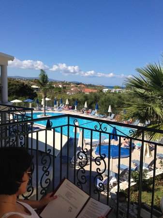 Zante Star: View from room 132