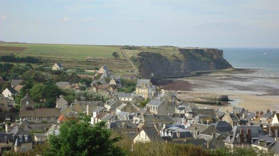 Hotel de Normandie: Vue d'arromanches