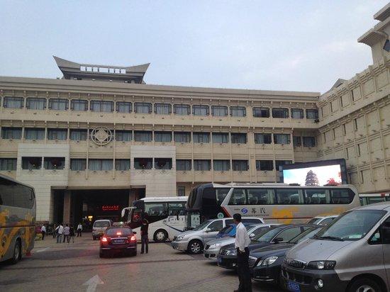 Lobby Picture Of Suzhou Central Hotel Suzhou Tripadvisor
