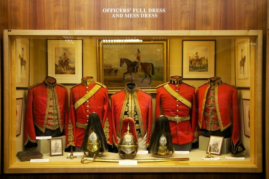 The Royal Dragoon Guards Museum: Exhibit