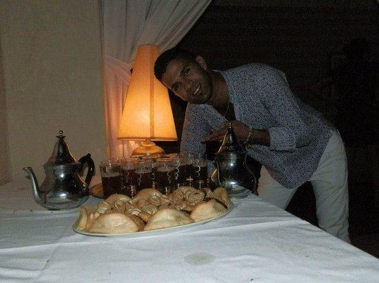 Riad l'Oiseau du Paradis : le thé