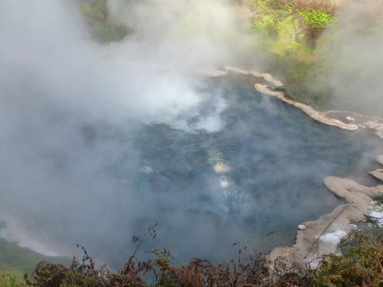 Waikite Valley Thermal Pools: spa origin