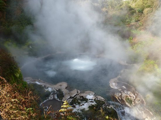 Waikite Valley Thermal Pools: the origin of the spa