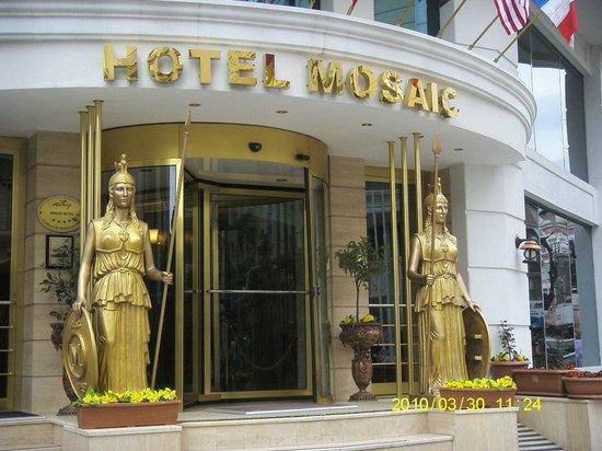 Hotel Mosaic: entrada