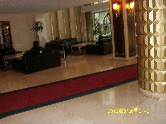Hotel Mosaic: zona de espera