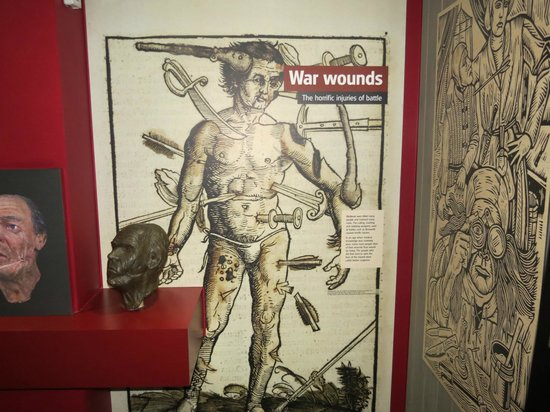 Bosworth Battlefield Heritage Centre and Country Park: Detail in Exhibition