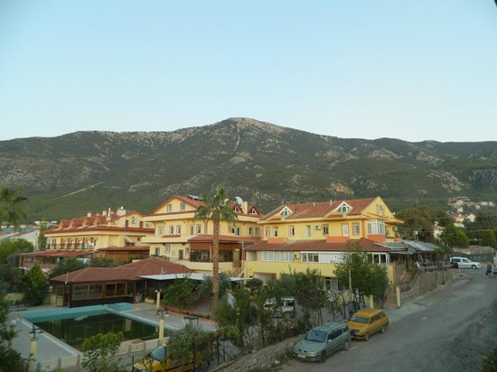 Orka Club Hotel & Villas: View from room 318