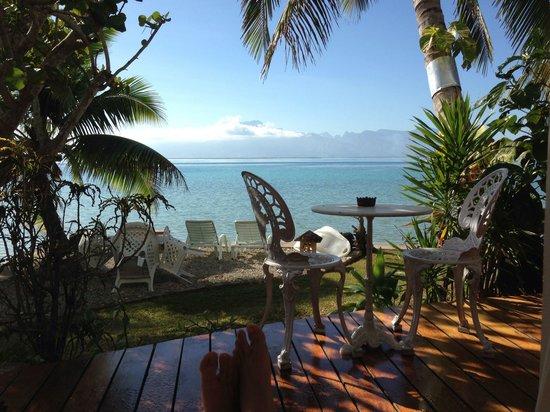 AtuanA Lodge: Une magnifique vue sur Tahiti!!