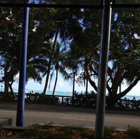 Capers on the Esplanade: View at breakfast
