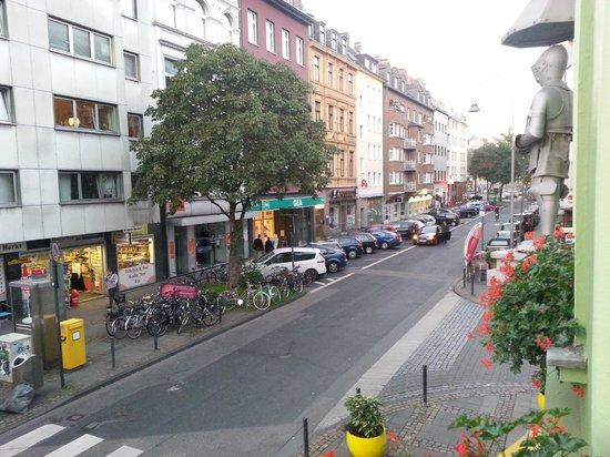 Hotel am Chlodwigplatz: Vista dalla camera