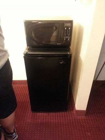 Days Inn Brooksville: microfridge was great to have