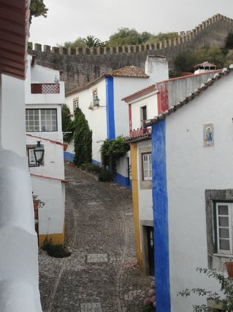 Casa do Relogio: View from room window