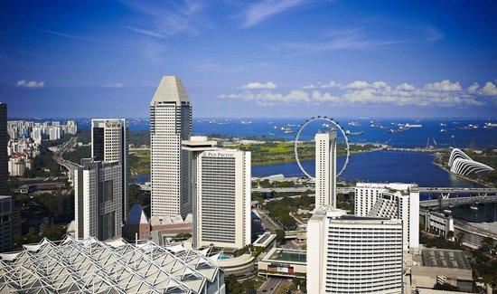 Pan Pacific Singapore: Facade
