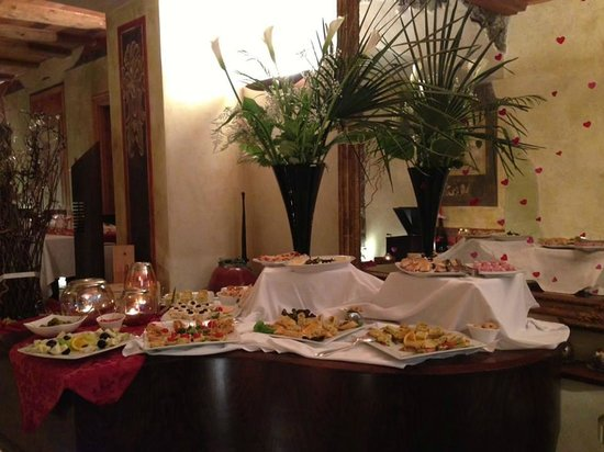 Accademia caffe: Buffet
