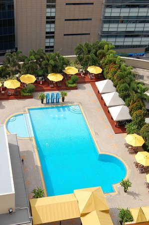 Swimming pool view picture of marina mandarin singapore - Marina mandarin singapore swimming pool ...
